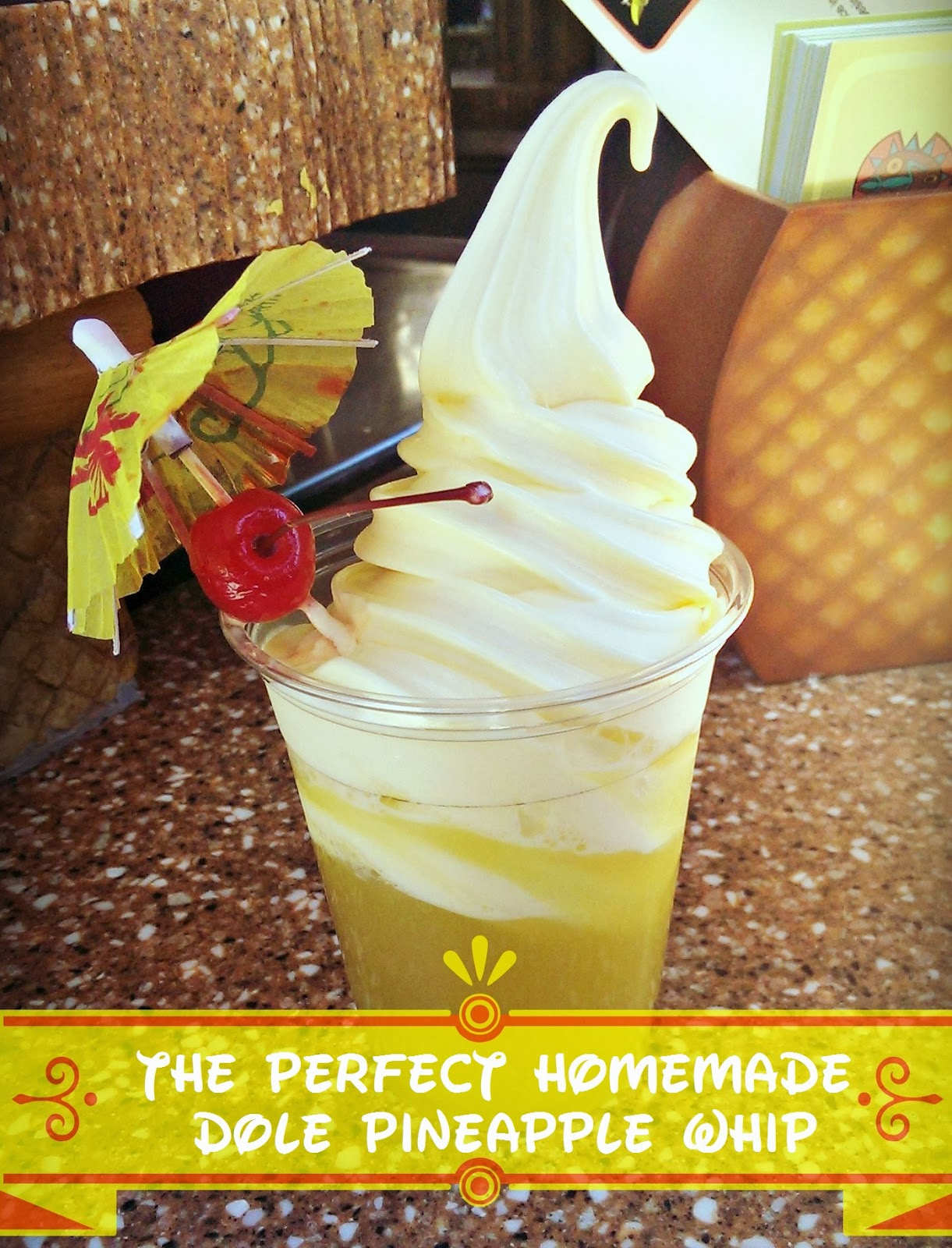 Homemade Dole Pineapple Whip