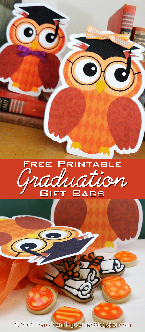 Party planning center free graduation gift bag