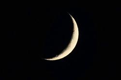 Eine Mondsichel...