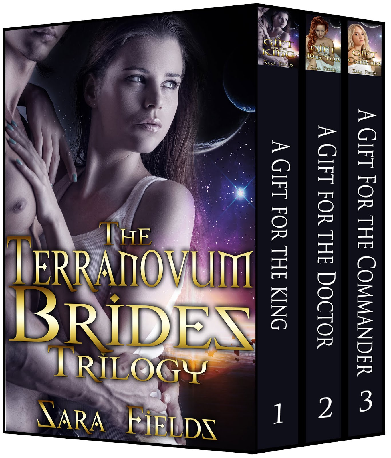 The Terranovum Brides Trilogy