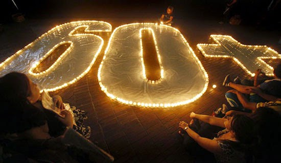 Earth Hour March 28, 2015 - Philippines
