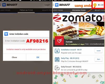 Premium invite code WHAFF free $3/day