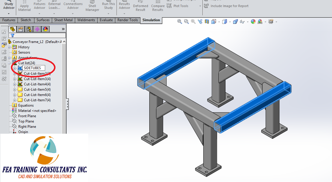 cut list solidworks