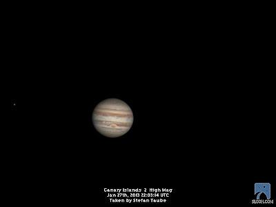 Lichtecho: Jupiter, Uranus, das Schlüsselloch und eine Seyfert