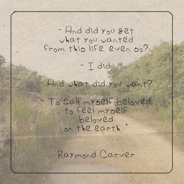In mY BucKeT.: Quote: Raymond Carver