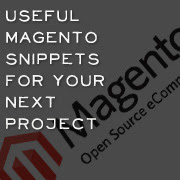 useful magento snippets for your next project