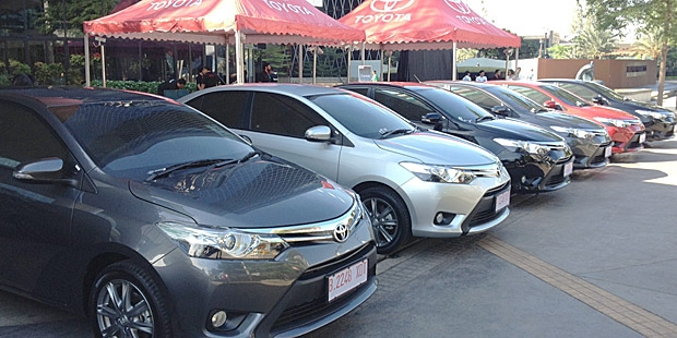 All New Vios CKD Dirakit November 2013