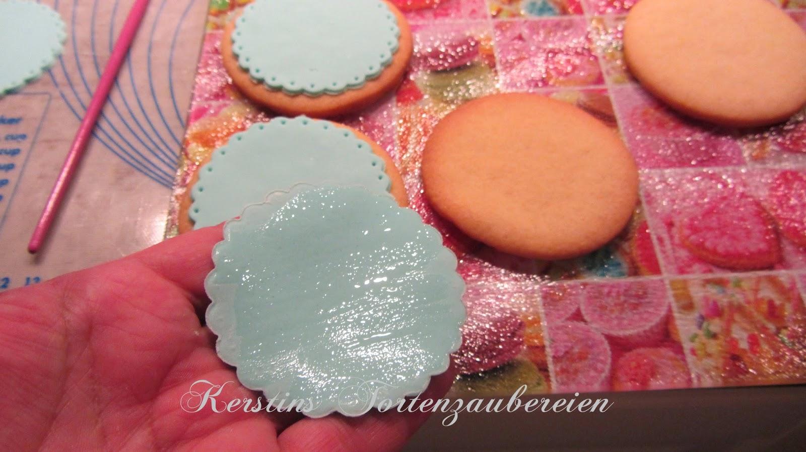 Fondant kekse baby rezept