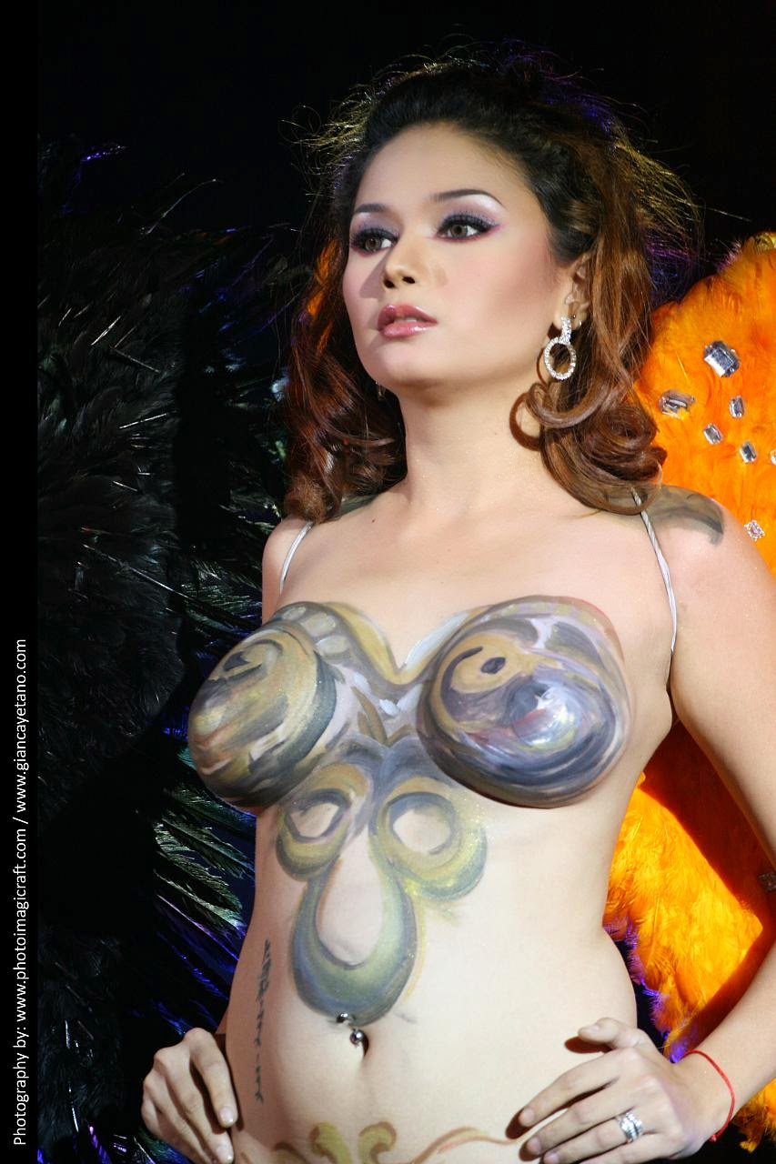 viva hot babes naked body paint 03