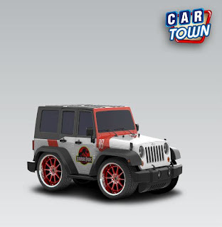 Jeep Wrangler Unlimited Rubicon 2012 Jurassic Park