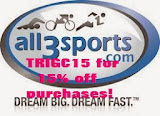 TRIGC15 for 15% off at all3sports.com!