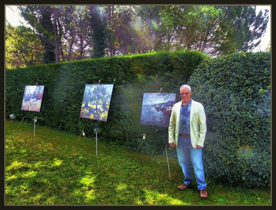 ERNEST DESCALS-EXPOSICIONES-PINTURA-ART AL JARDI-SANTPEDORCUADROS-PINTOR-