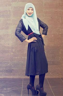 hijab ramadhan 2 Model Gaya Hijab Terbaru di Bulan Ramadhan