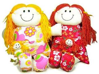 Bonecas de Panos