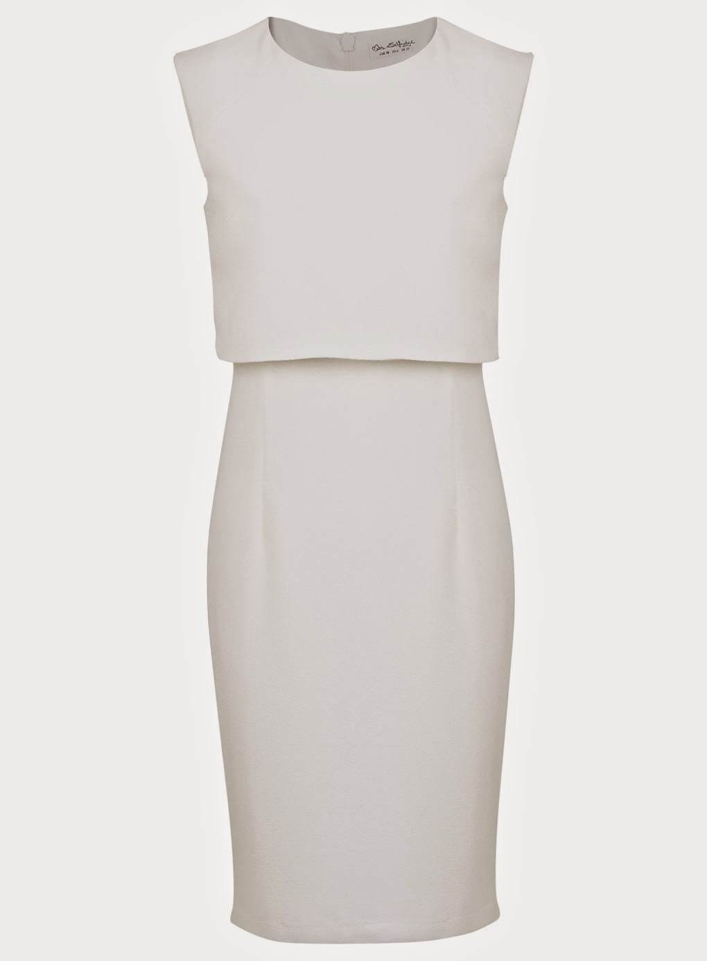 white layered dress, miss selfridge white dress, white pencil dress,