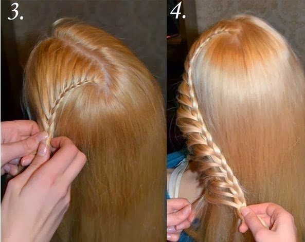 new romantic hair style tutorial