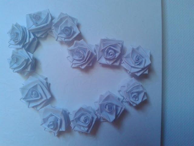 quilling róże