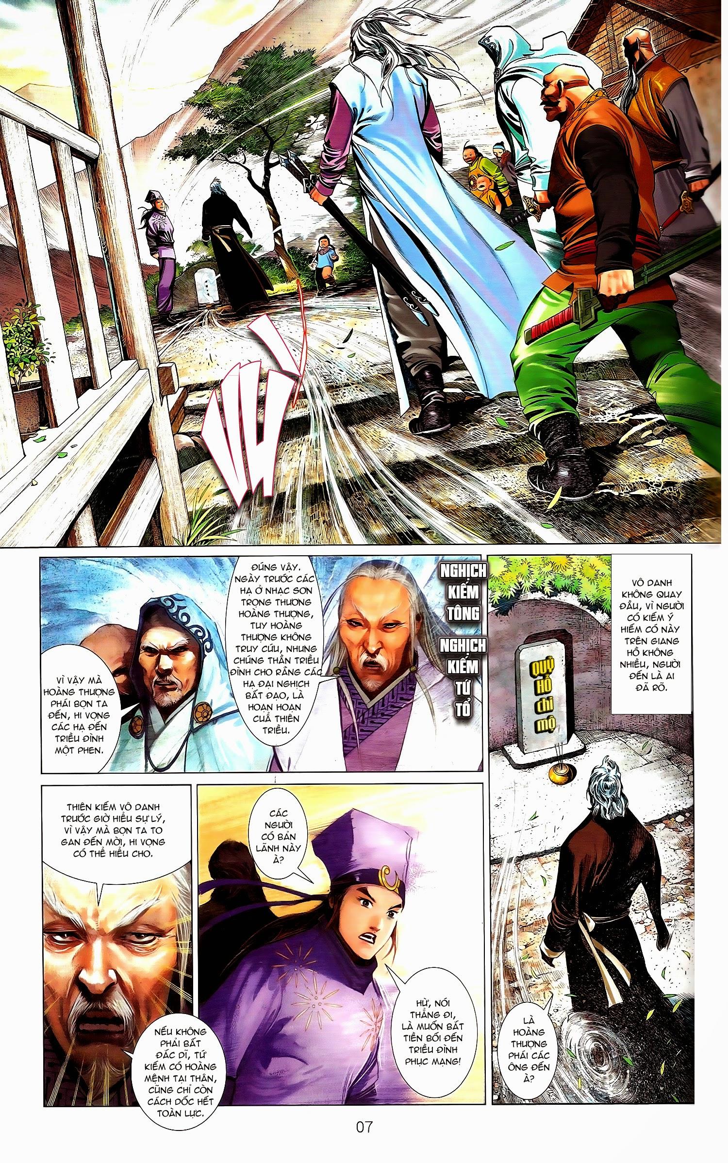 Phong Vân chap 671A Trang 7 - Mangak.info