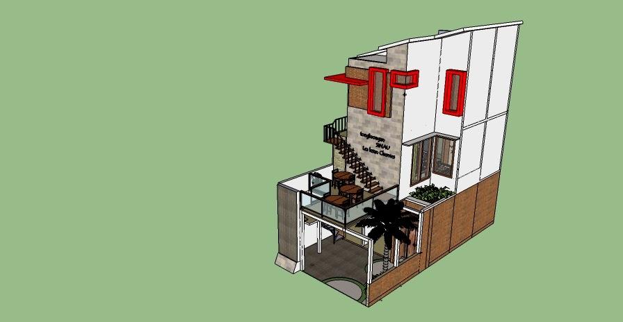 desain rumah di lahan sempit desain rumah sekaligus