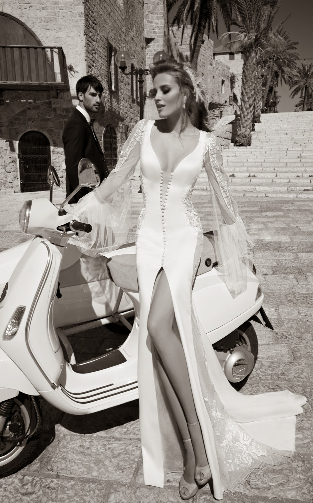 2015 wedding dresses Galia Lahav, La Dolce Vita bridal collection