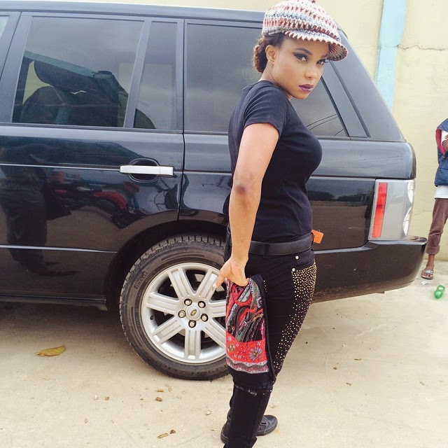 Photos: Iyabo Ojo Shows Off Her Swag