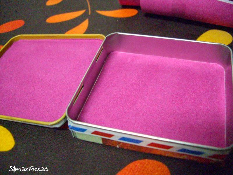 Cómo decorar una caja metálica