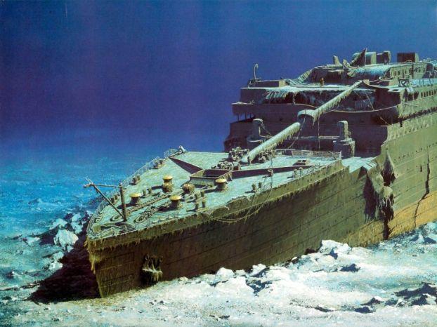 FOK.nl / Nieuws / 'Menselijke resten opvarenden Titanic op