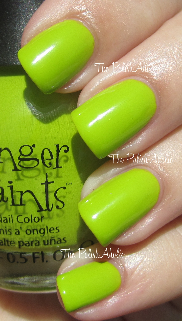 The PolishAholic: FingerPaints Summer 2012 Summer In The City ...