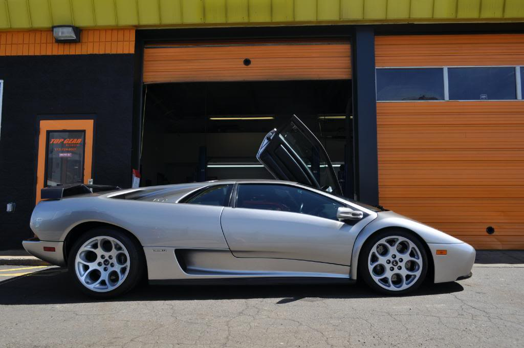 The Automotive Way Minneapolis Street Sighting Lamborghini Diablo