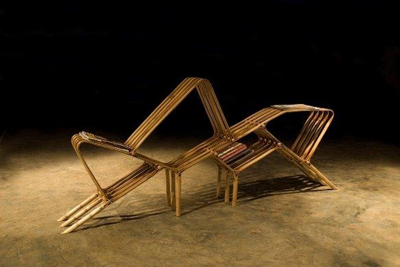 Atelier rue verte le blog meubles en bambou par sangaru for Meubles bambou design