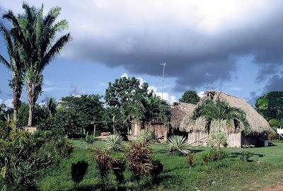 (Mexico) - Mayan village