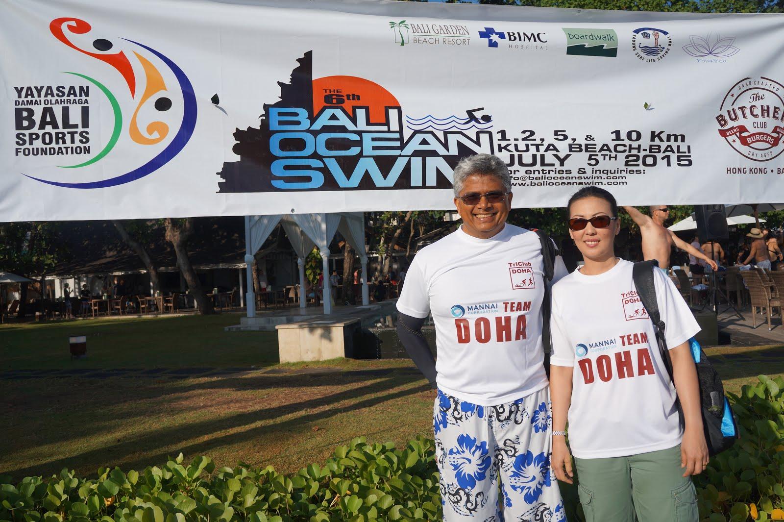 Bali 10 km Ocean Swim (5 July 2015)