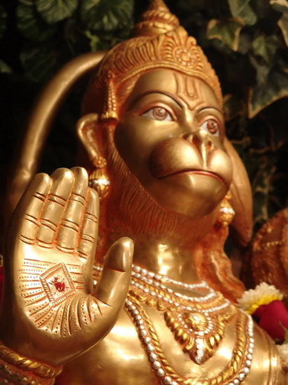 Lord Hanuman, The Aryan god of Evolution