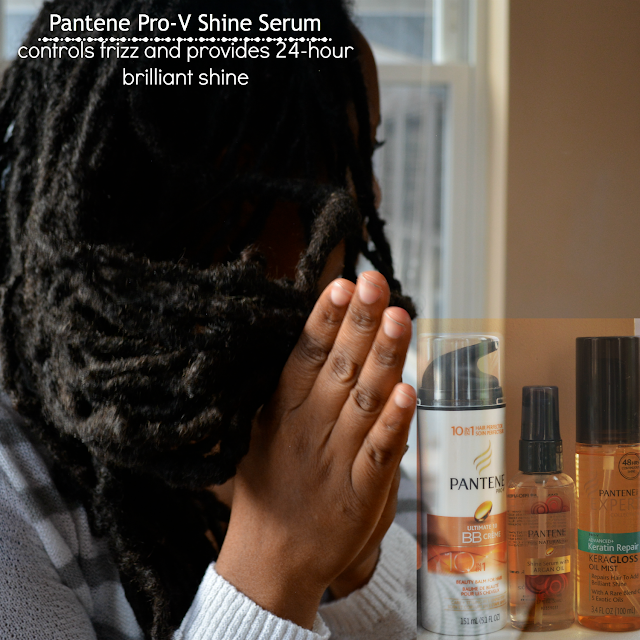 pantene shine serum oil