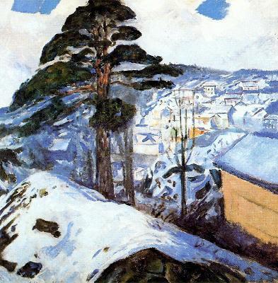 Hivern a Kragerö (Edvard Munch)
