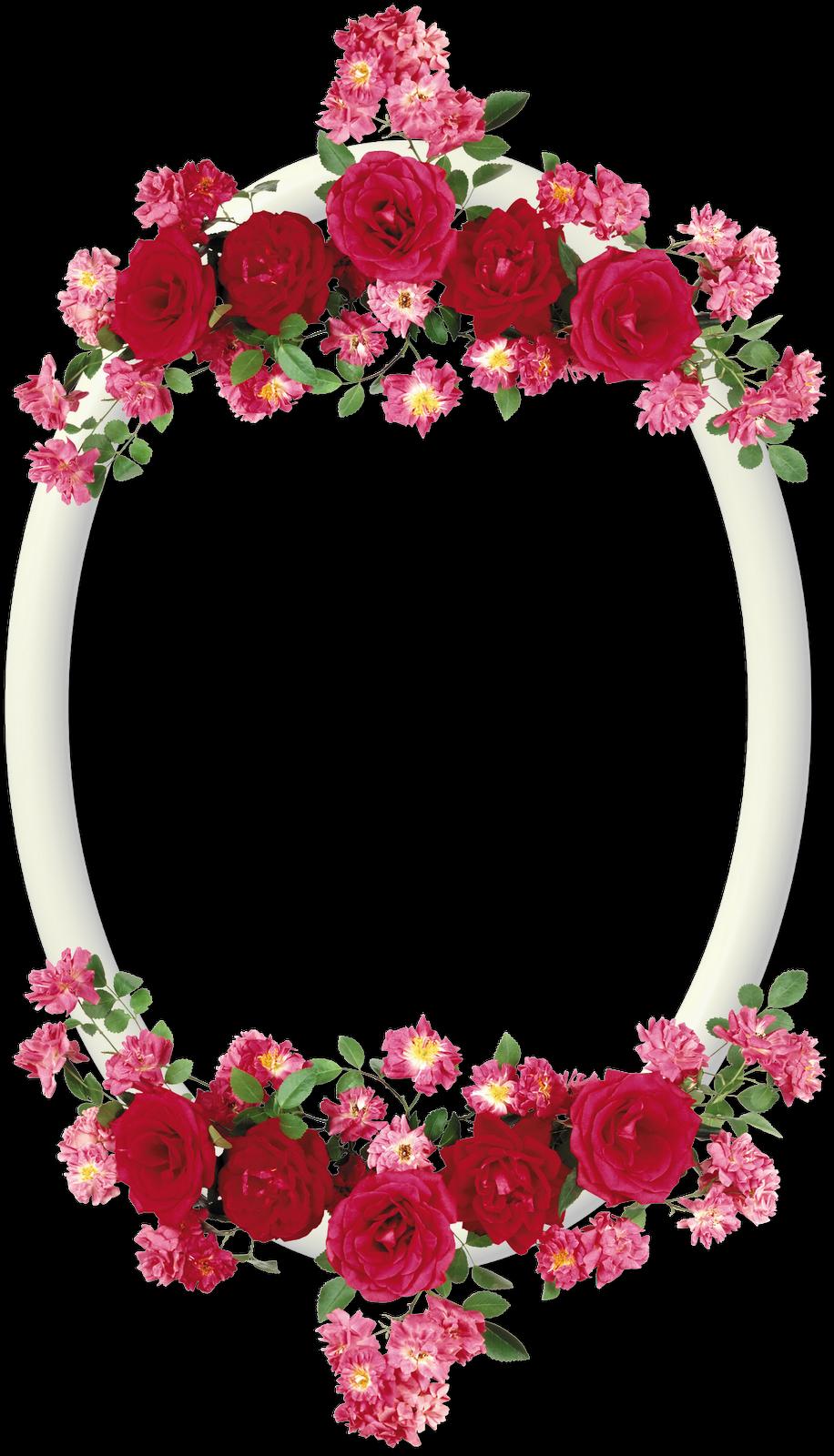 Marcos bonitos de flores imagui - Marcos redondos para cuadros ...