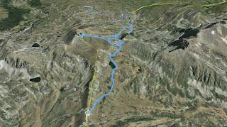 Recorregut: Pas de la Casa (Andorra)-Pic Negre d'Envalira