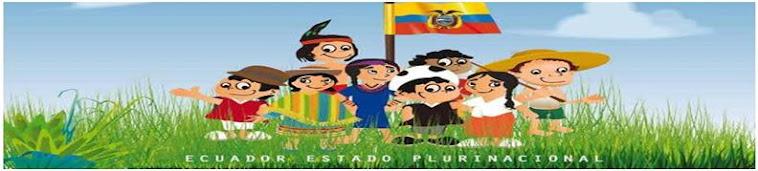 NACIONALIDADES Y GRUPOS ÉTNICOS DEL ECUADOR