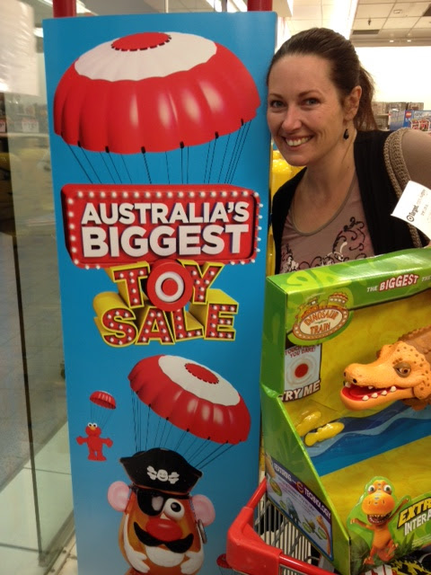 Target Toy Sale Australia : Does this look like a woman who has any self control