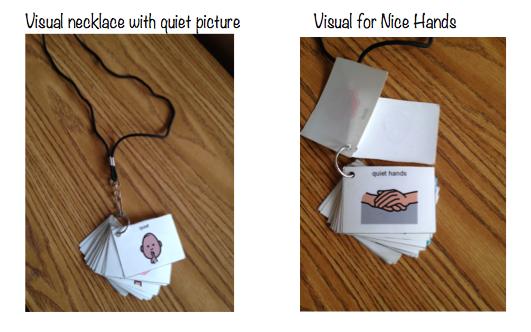 Autism Tank: Visual Necklaces
