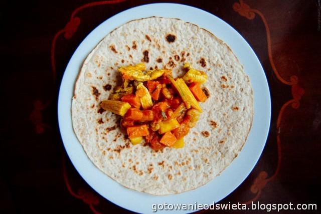 Curry z batatami w mleku kokosowym