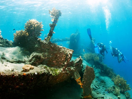 Wreck of the Liberty, Bali, Indonesia