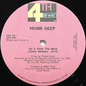 Mobb Deep – Hit It From The Back (VLS) (1993) (320 kbps)