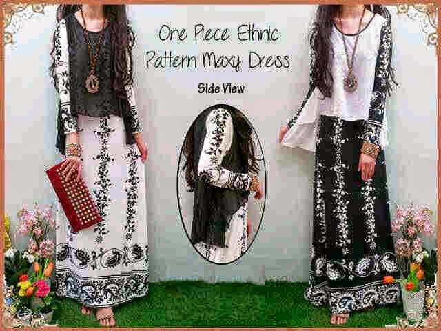 Bahan Maxi Spandex Korea + Outter Cerutty fit to L