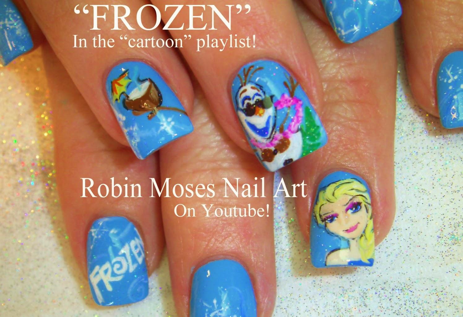 Robin moses nail art frozen nails frozen nail art elsa frozen nails frozen nail art elsa frozen nails olaf frozen nails olaf snowman disney princess nails disney nails frozen robin moses olaf prinsesfo Images