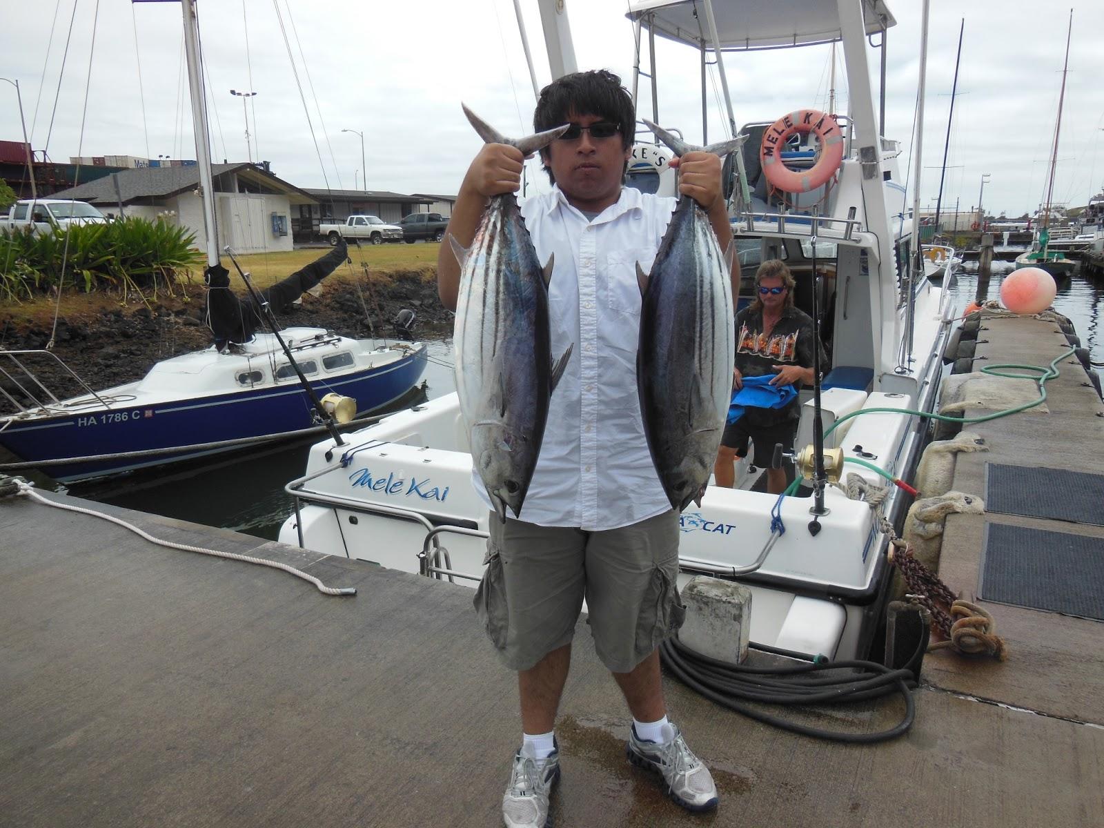 C lure fishing chaters kauai hawaii fishing report hawaii for Kauai fishing report