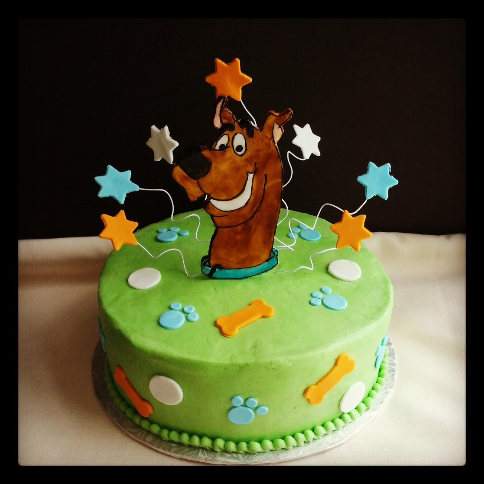 Scooby Doo Birthday Cake Tesco