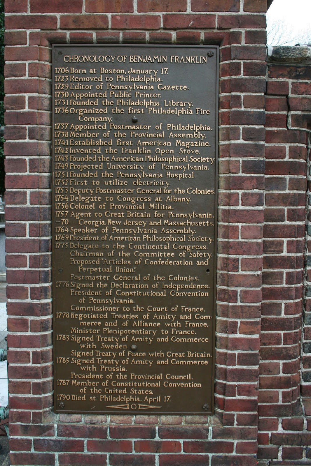 delco daily top ten top best ways to celebrate ben franklin s ben franklin does have a long resume and i am quite sure this is the short list