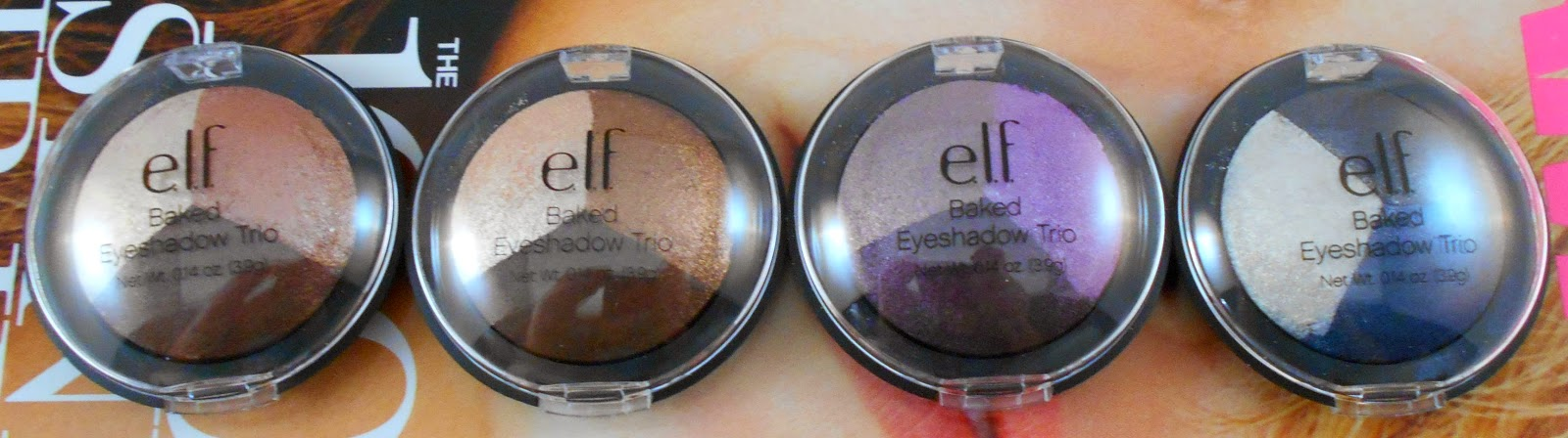 E.L.F Studio Baked Eyeshadow Trios