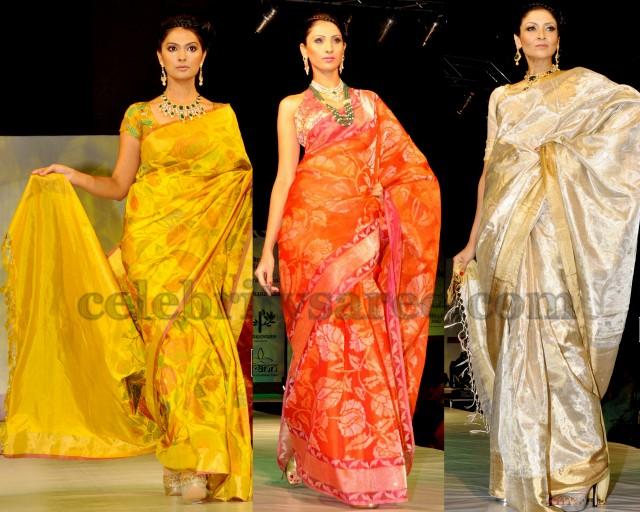 Designer Uppada Silk Sarees